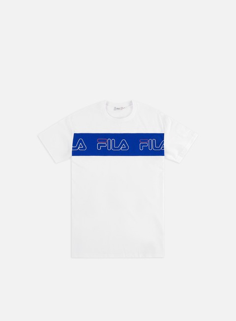 Sale Outlet Short sleeve T-shirts Fila Aki Logo T-shirt