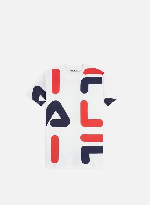 Outlet e Saldi T-shirt a Manica Corta Fila Bennet Letter AOP Block T-shirt