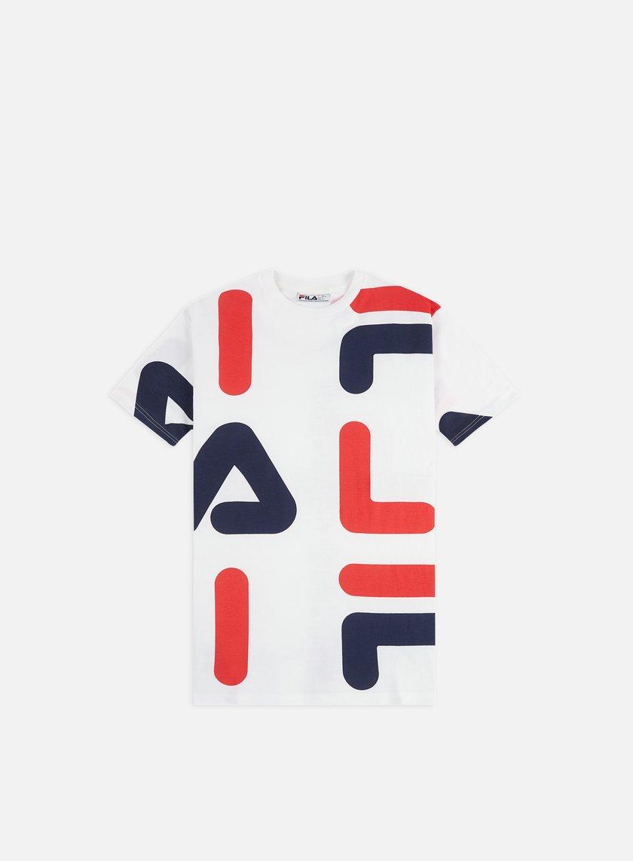 Fila Bennet Letter AOP Block T-shirt