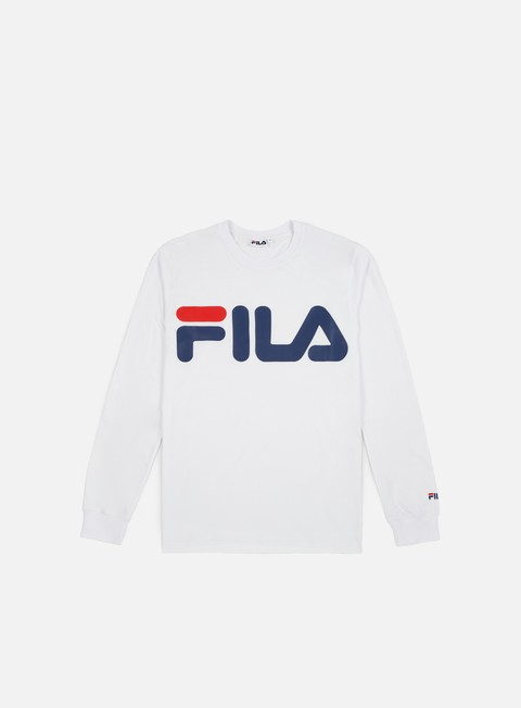Long Sleeve T-shirts Fila Classic Logo LS T-shirt