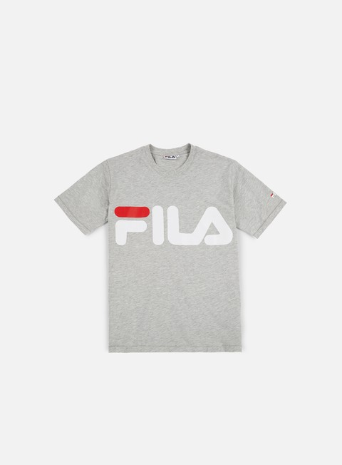 t shirt fila classic logo t shirt light grey