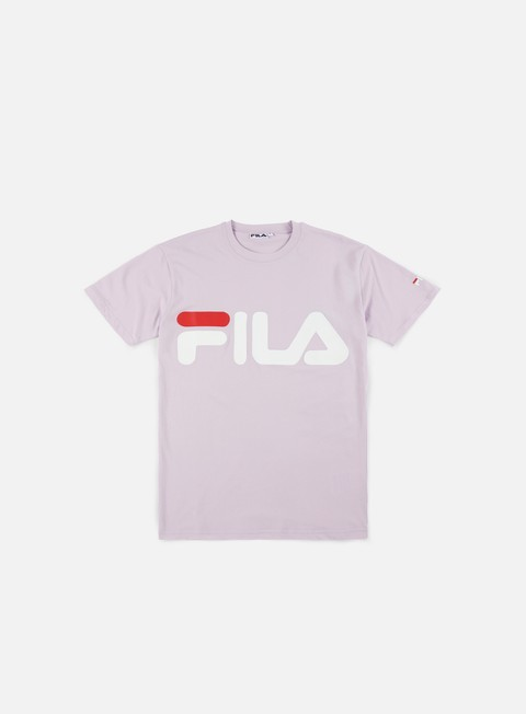 t shirt fila classic logo t shirt orchidea petal