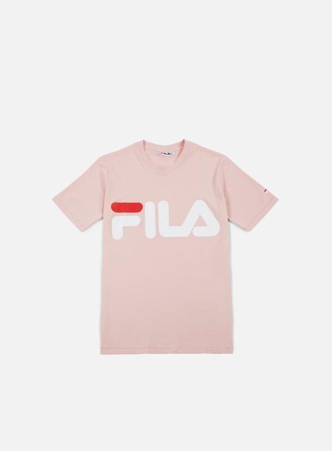 t shirt fila classic logo t shirt peachskin