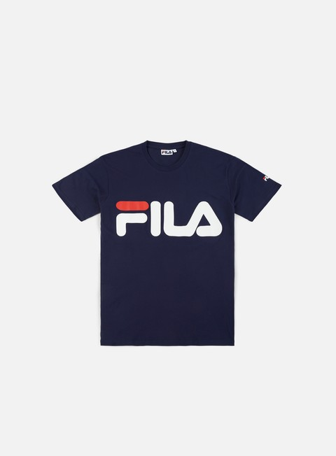 t shirt fila classic logo t shirt peacot