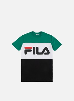 Fila - Day T-shirt, Black/Bright White/Shady Glade