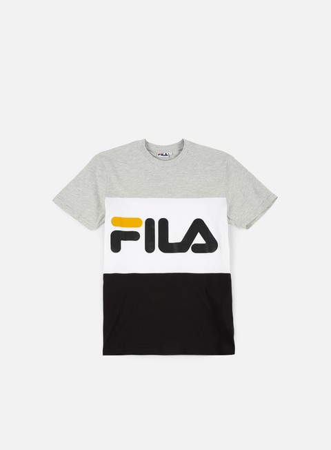t shirt fila day t shirt bright white light grey melange black