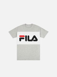 Fila - Day T-shirt, Light Grey Melange Bros/Bright White