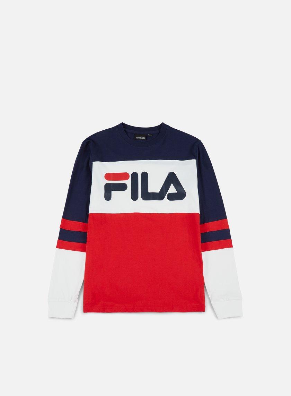 Fila - Dylan LS T-shirt, Peacoat