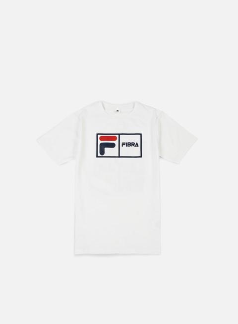 T-shirt a Manica Corta Fila Fibra T-shirt