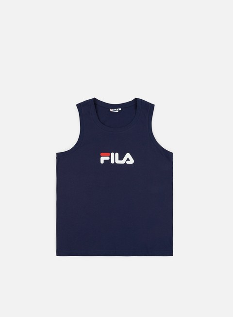 t shirt fila kent base tank peacot