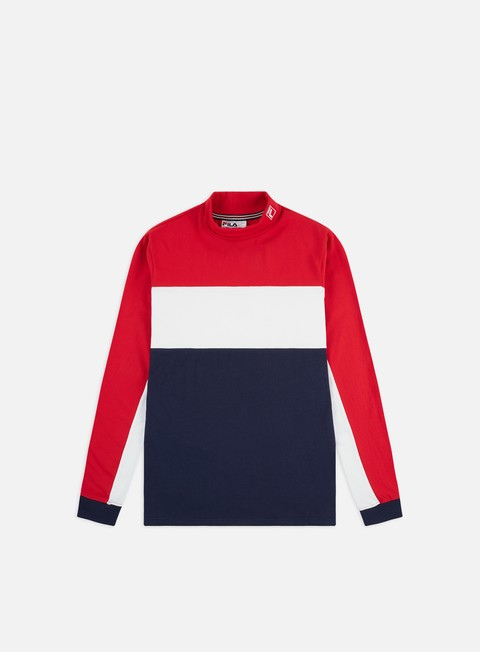 Long Sleeve T-shirts Fila Matteo LS T-shirt