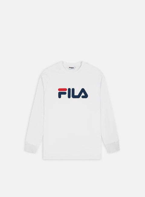 Outlet e Saldi T-shirt a Manica Lunga Fila Pure LS T-shirt