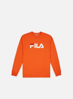 Fila - Pure LS T-shirt, Harvest Pumpkin