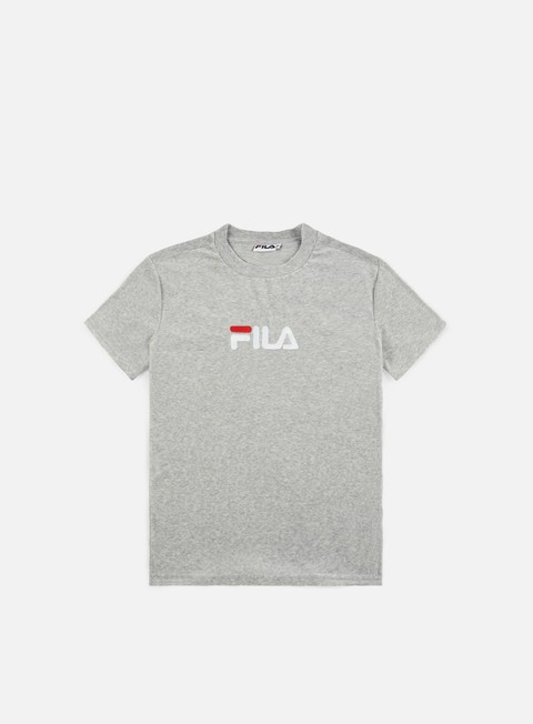 t shirt fila richard velvet t shirt light grey melange