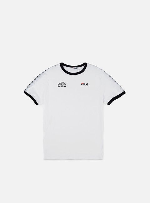 t shirt fila robert t shirt bright white