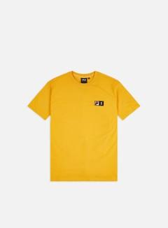 Fila - Spectrum Vertical Logo T-shirt, Yellow