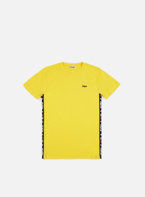 t shirt fila talan t shirt vibrant yellow
