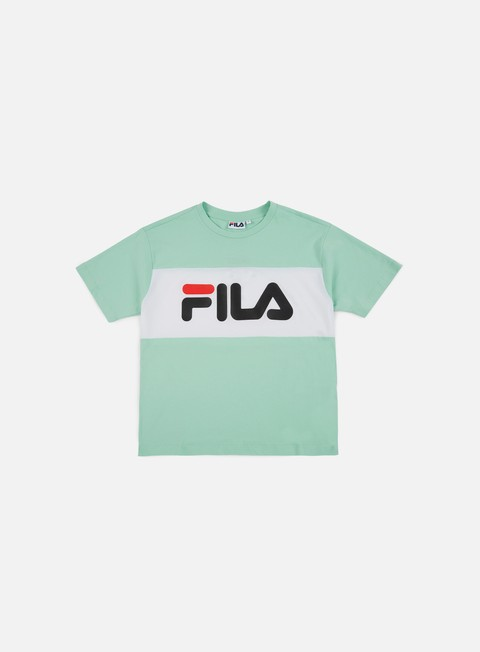 t shirt fila wmns allison t shirt liche bright white