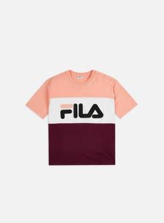 Fila - WMNS Allison T-shirt, Tawny Port/Coral Cloud/Bright White