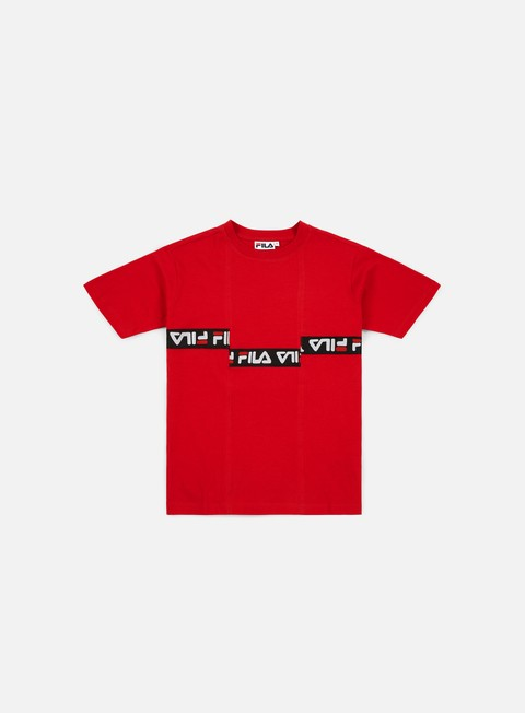 t shirt fila wmns charo t shirt true red