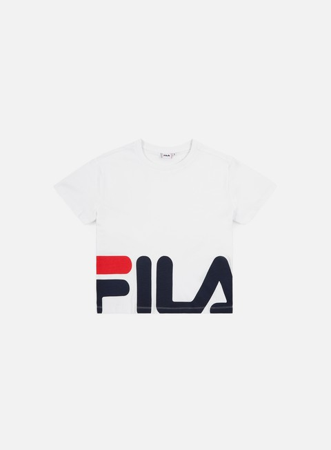 Short Sleeve T-shirts Fila WMNS Early Cropped T-shirt