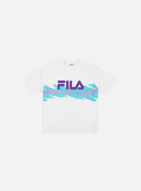 Outlet e Saldi T-shirt a Manica Corta Fila WMNS Gauri Cropped T-shirt