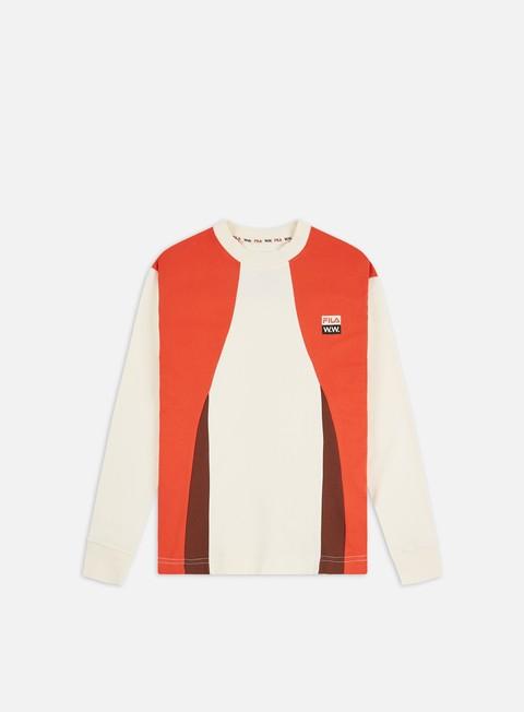 Long Sleeve T-shirts Fila WMNS Monica LS T-shirt