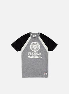 Franklin & Marshall - Alumni Logo T-shirt, Smoke Melange 1