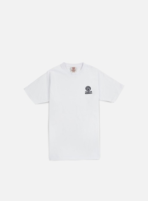 Short Sleeve T-shirts Franklin & Marshall Basic Logo Embroidery T-shirt