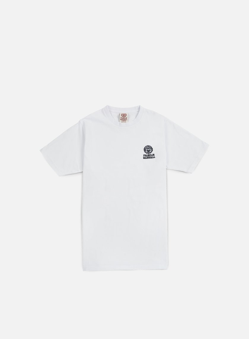 Franklin & Marshall - Basic Logo Embroidery T-shirt, Old White