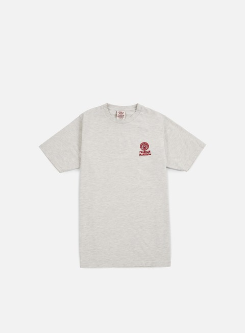 Sale Outlet Short sleeve T-shirts Franklin & Marshall Basic Logo Embroidery T-shirt