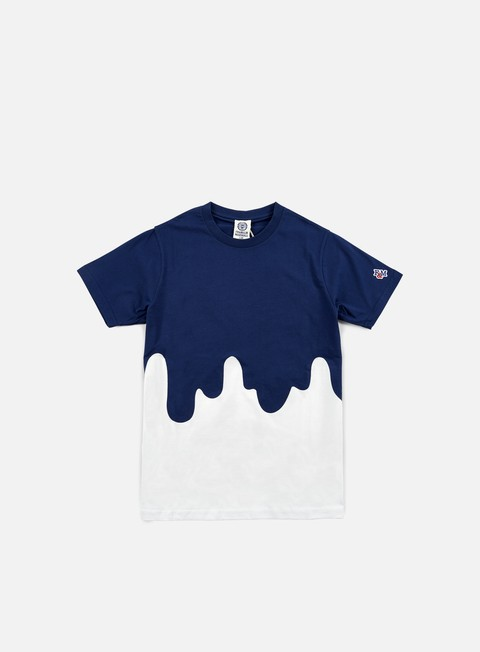 t shirt franklin e marshall drip lab t shirt white