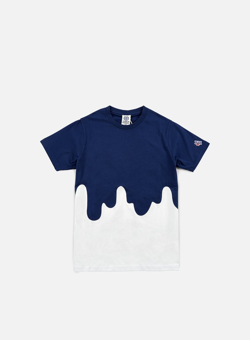 Franklin & Marshall - Drip Lab T-shirt, White