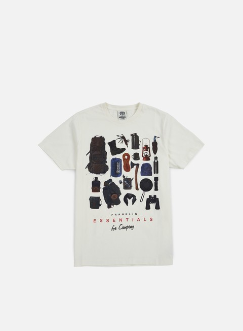 Sale Outlet Short sleeve T-shirts Franklin & Marshall Essentials For Camping T-shirt