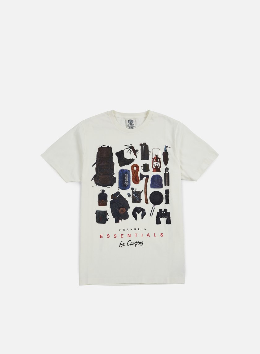 Franklin & Marshall Essentials For Camping T-shirt