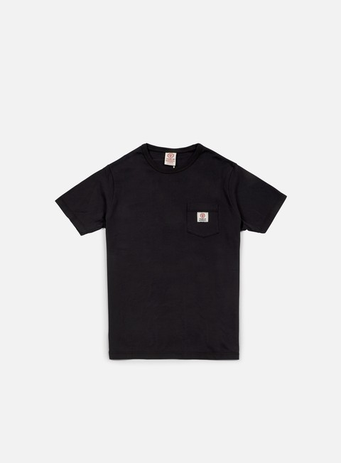 t shirt franklin e marshall pocket t shirt black
