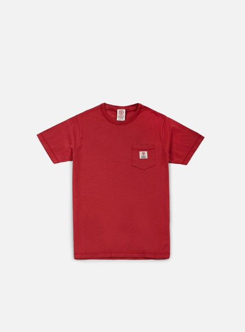 t shirt franklin e marshall pocket t shirt earth red