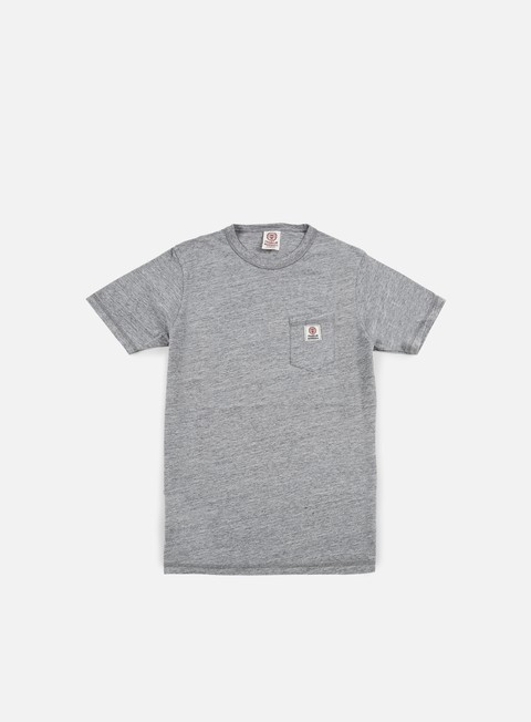 t shirt franklin e marshall pocket t shirt grey melange