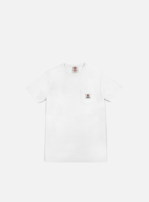 t shirt franklin e marshall pocket t shirt white