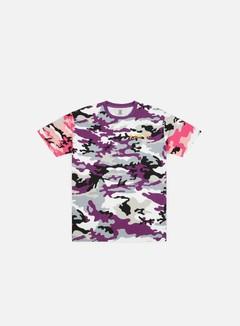 Franklin & Marshall Sfera Ebbasta All Over Camo Print T-shirt