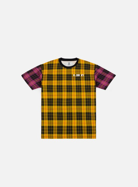 Sale Outlet Short sleeve T-shirts Franklin & Marshall Sfera Ebbasta Checkered T-shirt