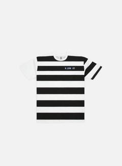 Franklin & Marshall Sfera Ebbasta Grunge Stripes T-shirt