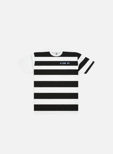 Franklin & Marshall Sfera Ebbasta Grunge Stripes T-shirt