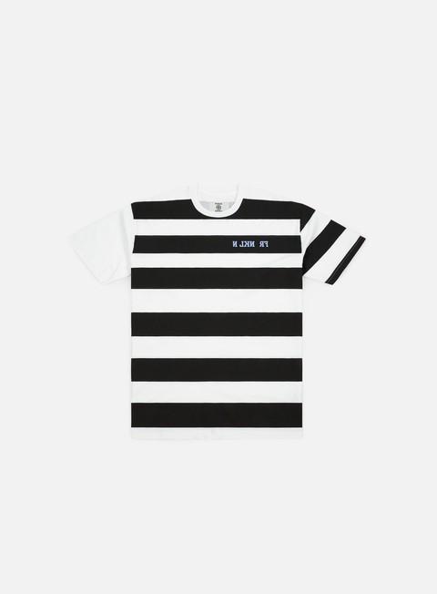 Sale Outlet Short sleeve T-shirts Franklin & Marshall Sfera Ebbasta Grunge Stripes T-shirt