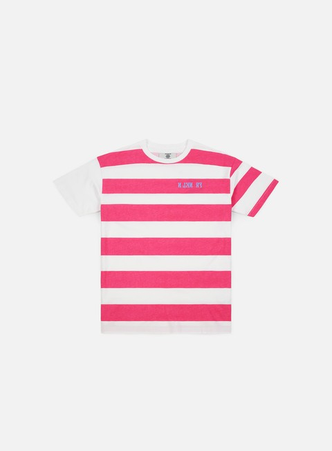 Short Sleeve T-shirts Franklin & Marshall Sfera Ebbasta Grunge Stripes T-shirt