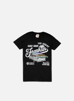 Franklin & Marshall - The Great Surf Shop T-shirt, Black 1
