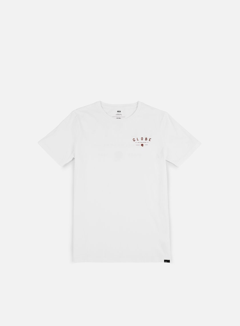 Globe - Alfred T-shirt, Optical White