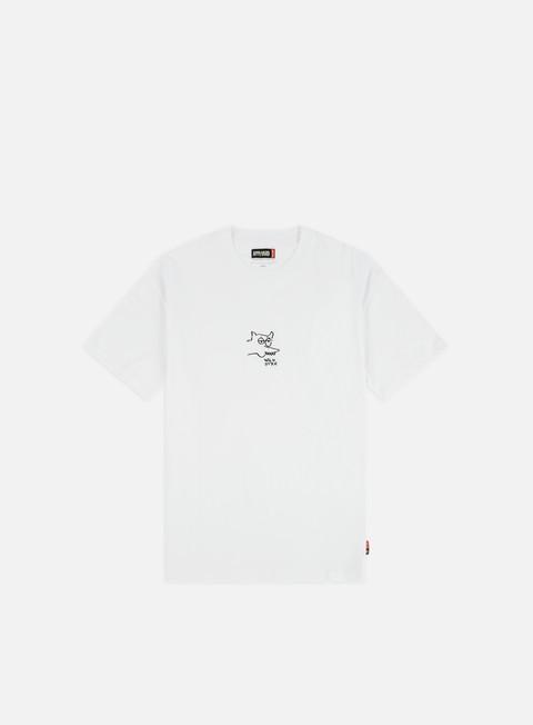 Outlet e Saldi T-shirt a Manica Corta Globe Appleyard Wild Style T-shirt