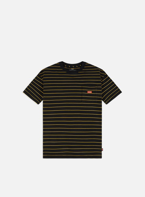 Short Sleeve T-shirts Globe Bar Stripe T-shirt