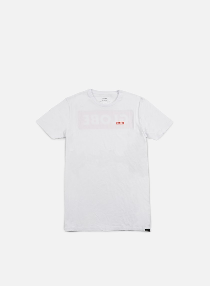 Globe - Block T-shirt, White
